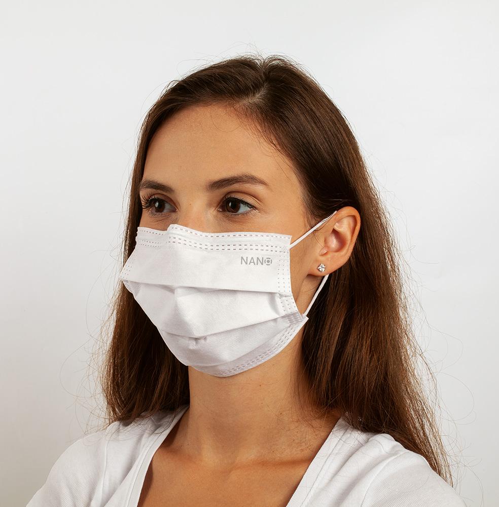 Zdravotnická obličejová maska NANO